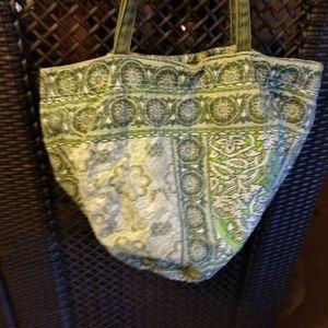American Eagle floral handbag.